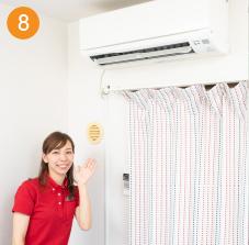 エアコン分解洗浄8